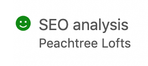The Real Estate Company search engine optimization analysis using Yoast SEO for WordPress by Spokencode.com